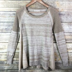 Knox Rose | Gold Sweater